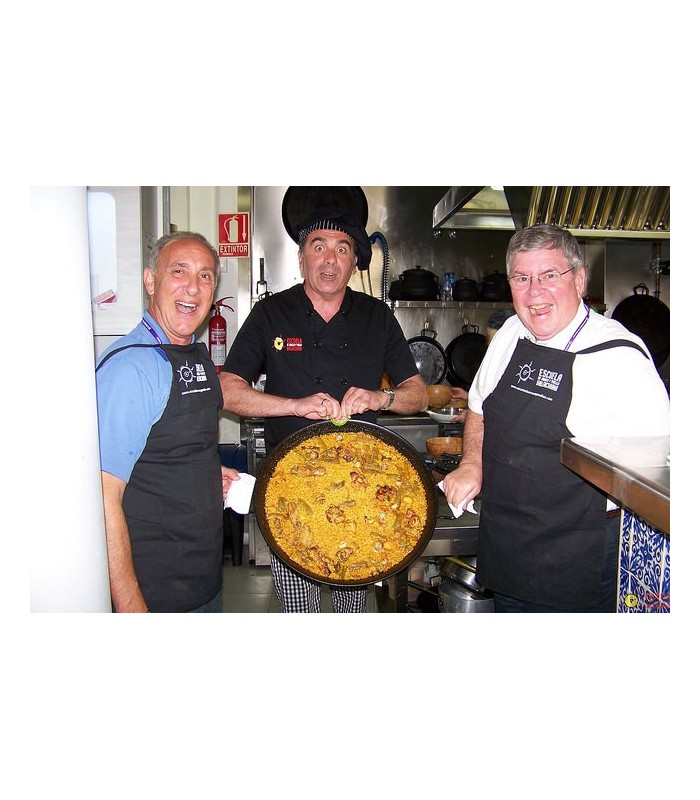 learn to make paella