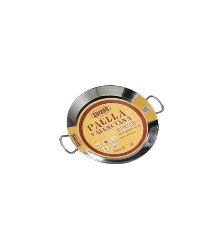 Paella acero inoxidable termodifusión - 36 cm