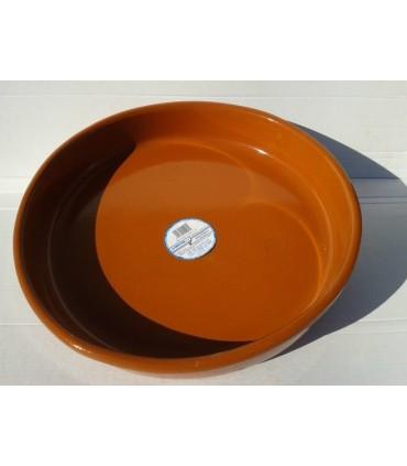 Cazuela barro honda - 45 cm