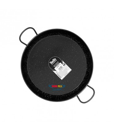Enamelled Steel Paella Pan Induction