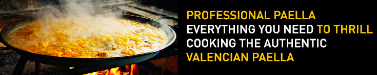 professional paella for restaurants and hospitality
