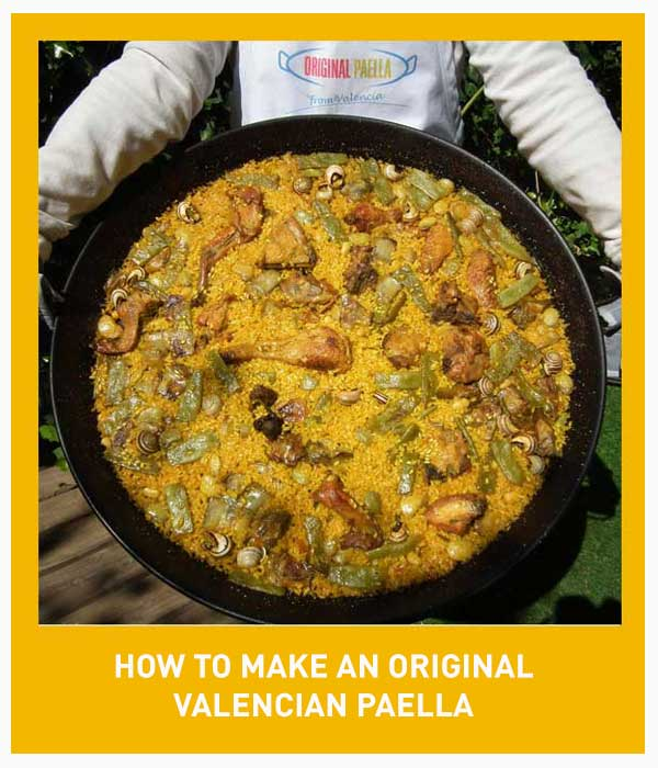 Original Valencian Paella Recipe from Valencia Spain