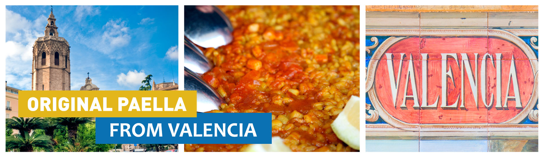 ORIGINALPAELLA FROM VALENCIA