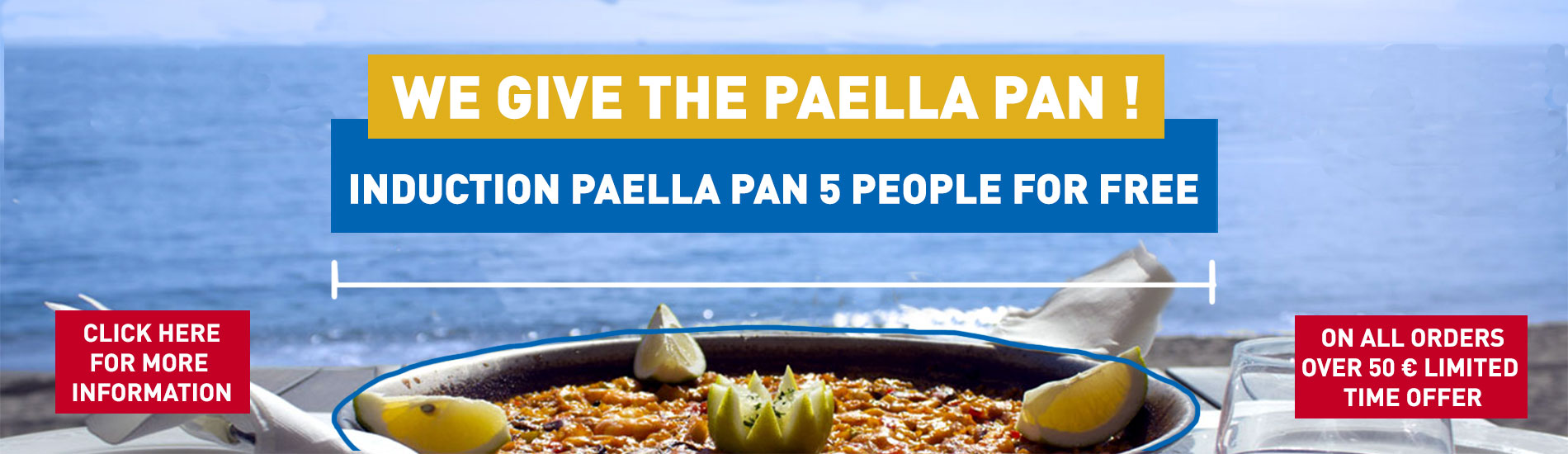 induction paella pan for 3 -5 people for free