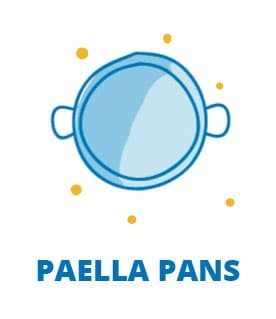 the best paella pans from Valencia Spain