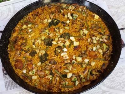 Easy guide vegetable paella