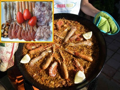 Easy guide seafood paella