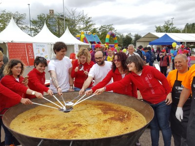Hall of fame paella makers and paella pans